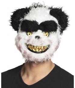 Uhyggelig blodig Panda maske til Halloween.