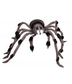 Kæmpe edderkop til halloween.