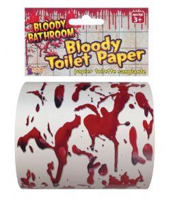 Blodigt toiletpapir