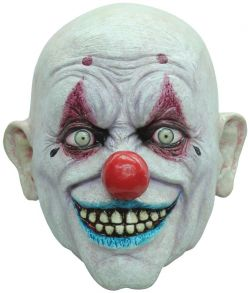 Crappy the clown maske fra Ghoulish.