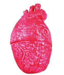 Squishy hjerte i gummi og skum.