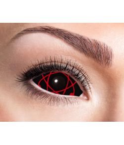 Sclera linser Red Atomic