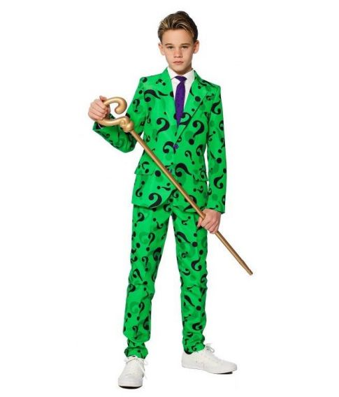 Suitmeister The Riddler til drenge.
