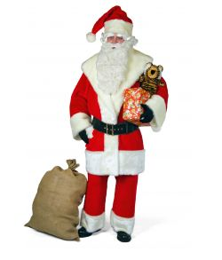 Flot julemandskostume i god kvalitet.