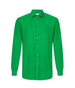 Grøn ensfarvet skjorte fra OppoSuits.