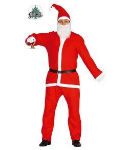 Billigt julemandskostume til voksne.