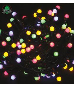 Multifarvet LED lyskæde, 5 meter.