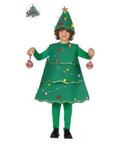Juletræ kostume till børn.