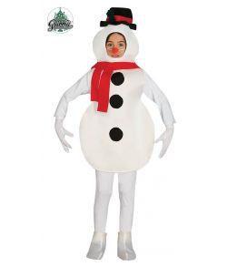 Snemand kostume til drenge.