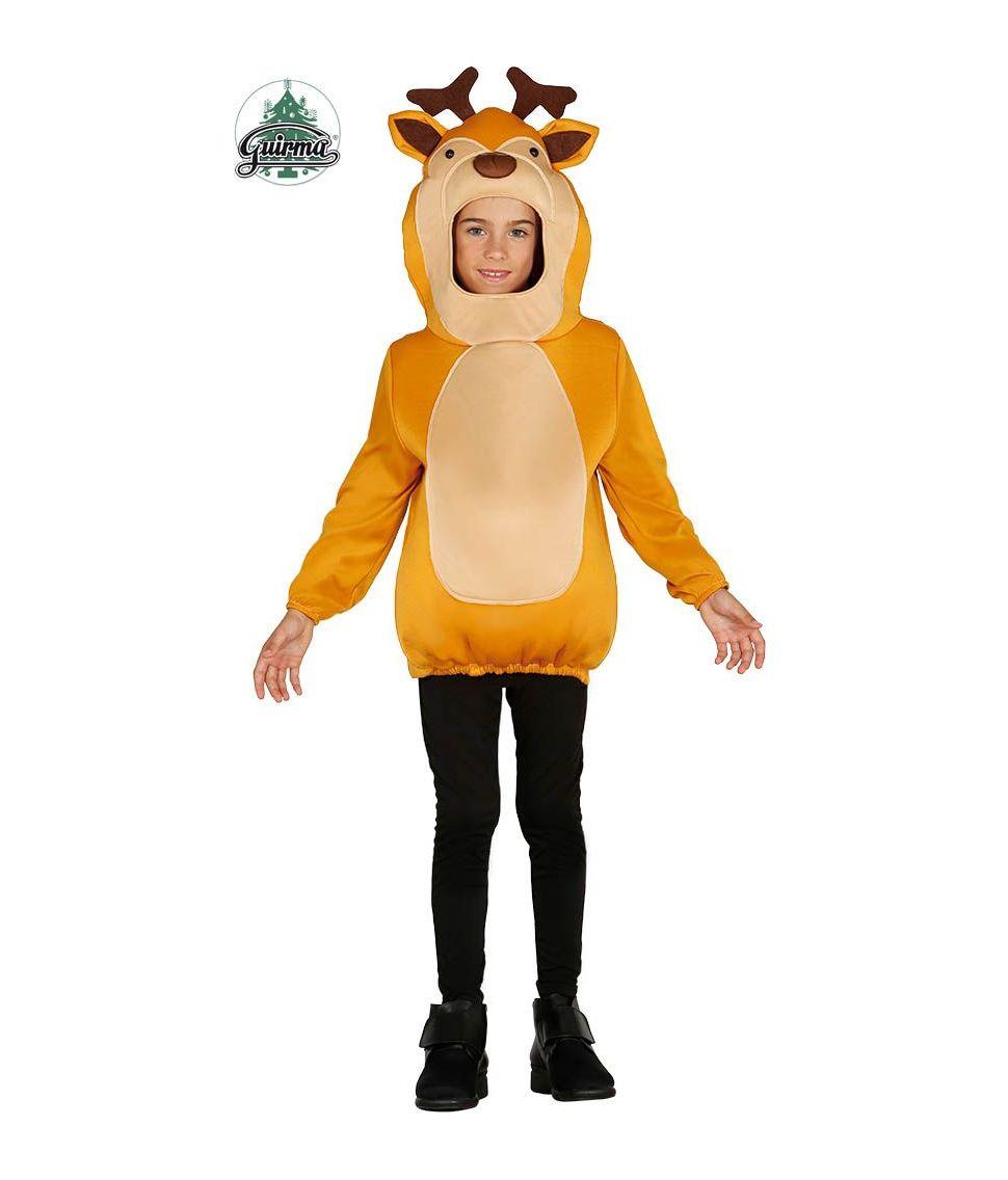 Sjovt rensdyr kostume til børn. - Fest & Farver