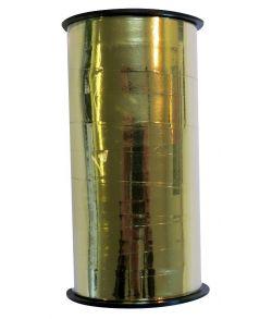 Guld polybånd, 10mm x 50 m.