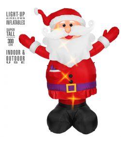 Oppustelig Julemand 300 cm