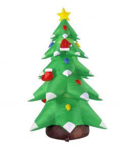 Oppusteligt juletræ 183 cm