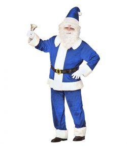 Blå Julemandskostume.