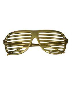 Guld lamelbriller