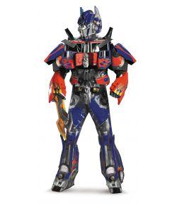Transformers Optimus Prime Deluxe kostume til voksne.