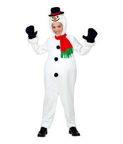 Snemand kostume til børn.