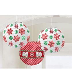 Jule lanterner 3 stk