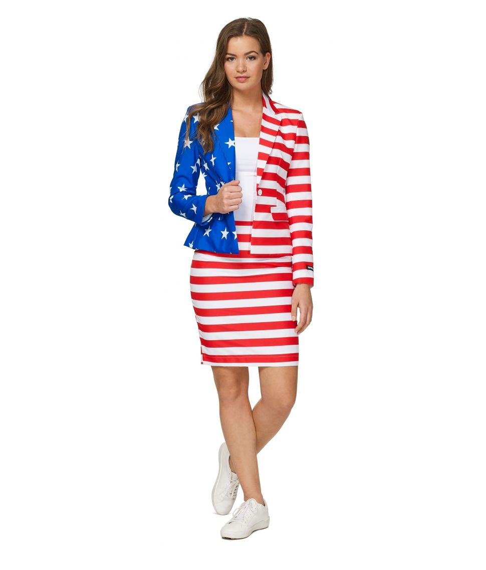 Suitmeister Womens USA Flag