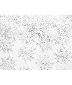 Snefnug konfetti 3,5cm