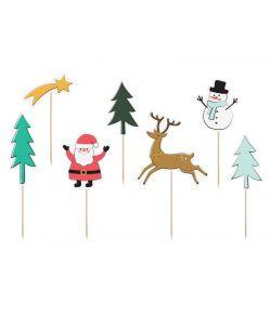 Julefigur på pind
