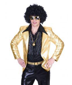 Disco fever jakke, guld