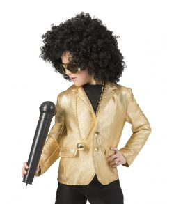 Disco jakke, guld