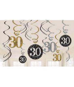 Loftspiraler Sparkling 30 år