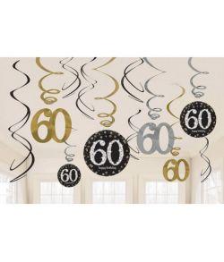 Loftspiraler 60 år Sparkling
