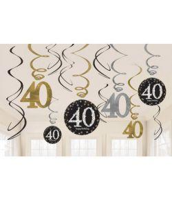 Loftspiraler 40 år Sparkling