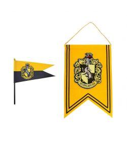 Hufflepuff banner og flag