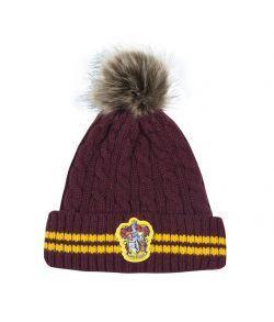 Harry Potter Gryffindor hue med kvast