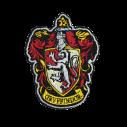Harry Potter broderet emblemer, 6 stk
