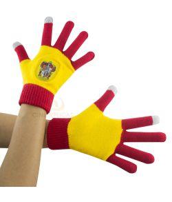Gryffindor handsker, røde og gule.