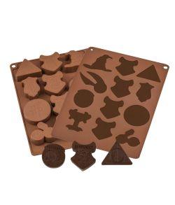 Harry Potter chokolade form