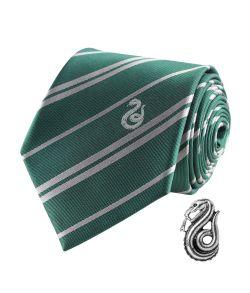 Slytherin slips med pin, Deluxe