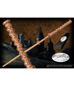 Arthur Weasleys tryllestav i æske med navneskilt. Character Wand.