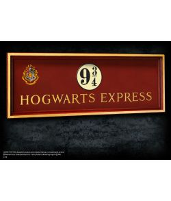 Hogwarts 9 3/4 skilt - Harry Potter
