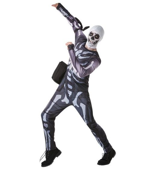 Fortnite Skull Trooper kostume
