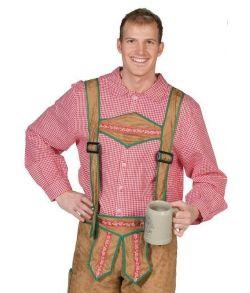 a2f60c9dc43 Find ægte lederhosen og tyroler kostumer til mænd her - Fest & Farver