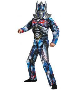 Transformers Optimus Prime kostume til drenge.