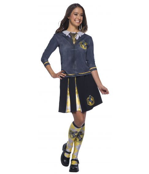 Hufflepuff nederdel med våbenskjold.
