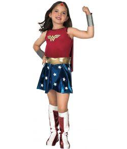 Wonder Woman kostume til piger.