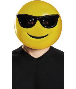 Emoji med solbriller maske