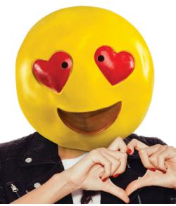 Heart Eyes Emoji maske