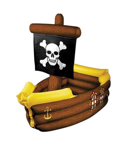 Oppustelig piratskib cooler