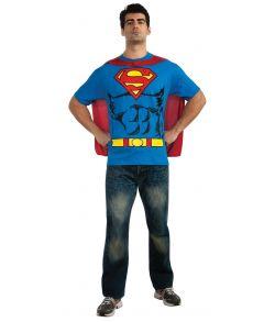 Superman t-shirt med print og aftagelig kappe.