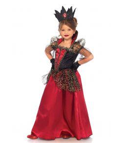 Dronninge kostume til piger.