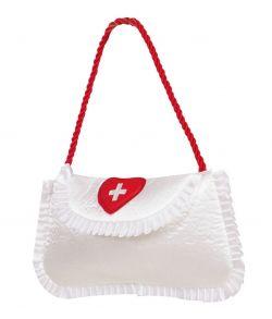 Sygeplejerske taske til kostume.
