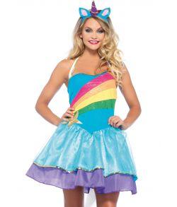 Billigt Enhjørning kostume til sidste skoledag fra Wonderland kostumer